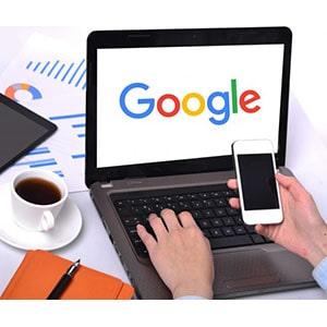 Anuncio de Site no Google